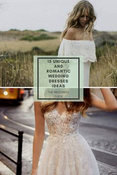 Unique and Romantic Wedding-Dresses Ideas #weddingdresses