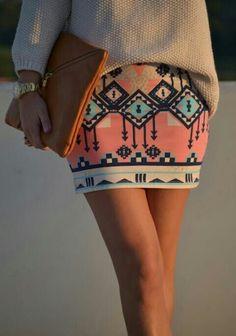 Aztec pattern vía tumbrl