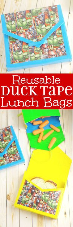 DIY Reusable Duck Ta