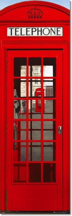 Si de rojo se trata, no olvidemos estas singulares cabinas