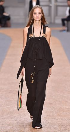 Look 33 from the Chloé Spring-Summer 2016 collection