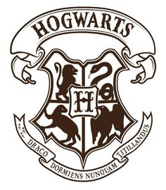 Hogwarts Logo Vector 5 - portsmou thnowand then - Harry Potter - Harry Potter Clip Art, Harry Potter Shirts, Harry Potter Stencils, Harry Potter Thema, Deco Harry Potter, Harry Potter Quilt, Theme Harry Potter, Harry Potter Drawings, Harry Potter Room