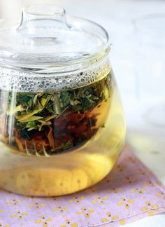 Spring allergy season is here, and we're intrigued by Erin Boyle's recipe for an herbal tea allergy remedy.