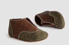 NOMAD LEATHER BABY BOOTIES—Soft and cozy wanderlust