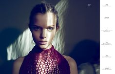 Josephine Skriver is Enchanting in Tush Summer 2012, Shot by Markus Jans