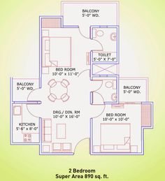 2/3BHK Apartments in Noida Extension, Supertech Eco Village 4