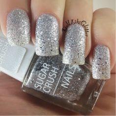 IsaDora Sugar Crush Nail Polish - Diamond Crush (100). This would be cute around christmas time.