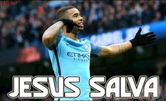 Gabriel Jesus vs Swansea City (JESUS SALVA - 05/02/2017) HD 720p ● DOIS GOLS DE GABRIEL JESUS
