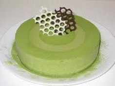 Green Tea Mousse Cake Recipe - Desserts