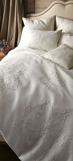 Shop bed and bath at Buyer Select. Our curated selection includes beautiful duvet covers, designer, and luxury bedding sets as well as sumptuous linens. French Country Bedrooms, French Country House, Country Style, French Country Bedding, Rustic Style, Country Decor, Bed Sets, Home Bedroom, Bedroom Decor