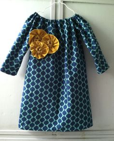 Custom Girl's Size 7  12 Navy and Teal Lattice by LBHCreations