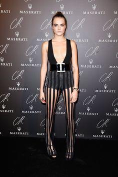 Pin for Later: Les Stars Se Sont Mises au Noir Pour Célébrer la Fin de la Fashion Week