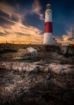 Portland Bill Lighthouse by Timm Burgess on 500px