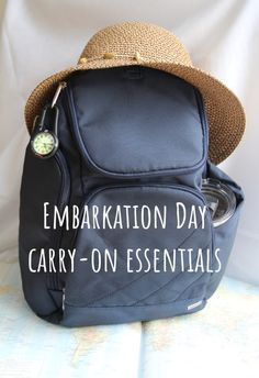 ebad602f63 Embarkation Day Carry-On Essentials