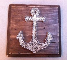 Anchor String Art on Etsy!