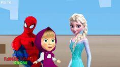 Elsa Frozen and Spiderman Gumball Machine-Elsa-Elsa Frozen-Spider-Spider...