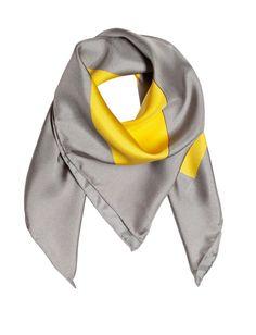 Scarf in silk sunrise print. Near To You, Cozy Scarf, Sunrise, Scarves, Silk, Knitting, Collection, Women, Fashion