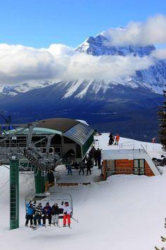 The Lake Louise Ski Area!