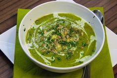 Italská cuketová polévka /Italian zucchini soup/ Zdravé, nízkosacharidové, bezlepkové recepty. (Healthy, low carb, gluten free recipes.)