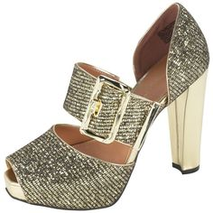 61711050bb1 Brands Christian Siriano for PaylessWomen s Allesandra Glitter Pump Shoes  For Less