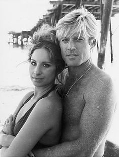 Barbra Streisand and Robert Redfort, both at their most beautiful.
