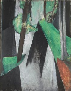 Henri Matisse (Fr., 1869-1954),Coup de soleil dans les bois de Trivaux, 1917, huile sur toile, 91 x 74cm, collection privée