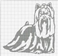 Gallery.ru / Фото #23 - собаки, схемы вышивок из интернета - poodel