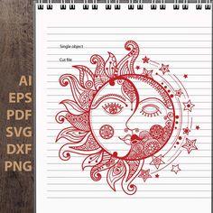 Moon Sun Tattoo, Sun Tattoos, Inkbox Tattoo, Sternum Tattoo, Baby Tattoos, Chest Tattoo, Sleeve Tattoos, Sun Drawing, Mandala Drawing