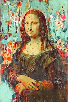 Paint Dappled Mona (2018). —MBS