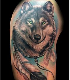 14 Inspiring Wolf Tattoo Designs And Ideas
