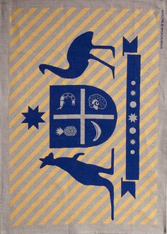 """E Australian Crest - """"Ode to the big things"""" Tea Towel (on beige) Where The Heart Is, Tea Towels, Screen Printing, Iron, Beige, Prints, Character, Shopping, Decor Ideas"""
