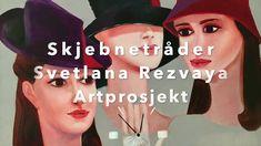 Artprosjekt Skjebnetråder av Svetlana Rezvaya Buy Paintings Online, Online Painting, Abstract, Youtube, Movie Posters, Art, Summary, Art Background, Film Poster