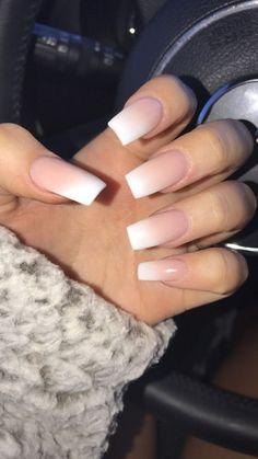 ombré acrylics ! #ombre #nails #acrylics