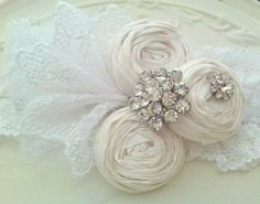 White Garter Bridal Garter Lace Garter