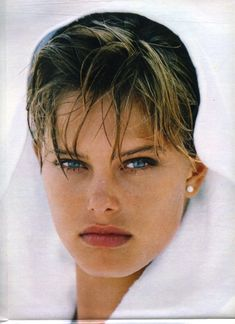 Renée Toft Simonsen from italian Amica 24. July 1984 by Gilles Bensimon