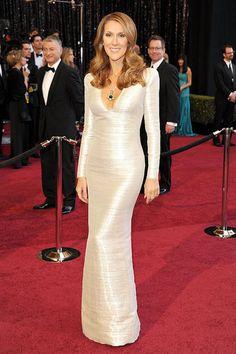 #CelineDion #RedCarpet #Oscars