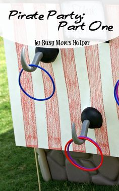 Pirate Party: Part One / by www.BusyMomsHelper.com #pirate #party #birthday #boyparty