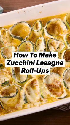 Low Carb Recipes, Diet Recipes, Vegetarian Recipes, Cooking Recipes, Healthy Recipes, Zuchinni Recipes, Vegetable Recipes, Le Diner, Vegetable Dishes