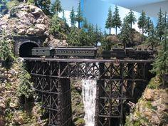 Model Train Curved Bridges | Bridge - Model Railroader Magazine - Model Railroading, Model Trains ...