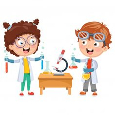 Find Vector Illustrations Kids Having Chemistry Lesson stock images in HD and millions of other royalty-free stock photos, illustrations and vectors in the Shutterstock collection. Thousands of new, high-quality pictures added every day. Science Clipart, Speech Therapy Games, Chemistry Lessons, Montessori, School Clipart, School Accessories, Retro Cartoons, School Games, Kids Reading