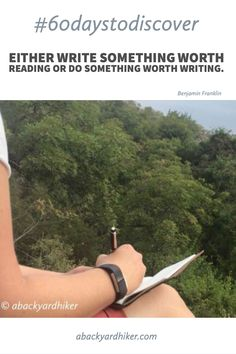 Write it down so you can relive your awesome adventure!