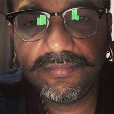 tranceFusion — With @shikhakhulbe Shikha's clip on earrings 😊...