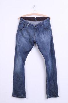 Levis Red Tab Jeans Mens 14 Jeans Trousers Cotton Blue - RetrospectClothes
