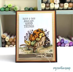 Hello my lovely Power Poppy Friends! It's Mindy from My Creative Scoop and I have another Copic Tutorial to share with you all. Today I'...