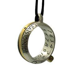 人生何が起きるかわからない!いざというときのために身につけておきたい、超原始的な日時計リングを発見