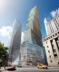 Two World Trade Center by BIG / Bjarke Ingels