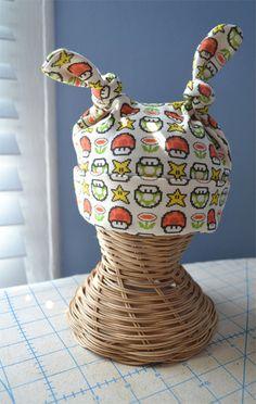 Mario Knotty Hat -- super cute!