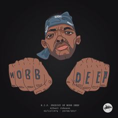 R.I.P. PRODIGY OF MOBB DEEP Albert Johnson 02/12/1974 - 20/06/2017