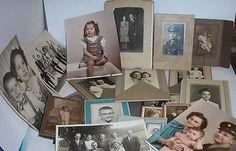 Vintage Lot of Old Photos Photographs Snapshots Men Women Family Reitnauer   eBay