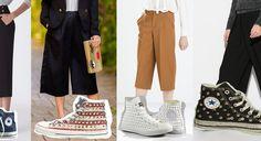 Pantaloni larghi e alla caviglia: come indossare i cropped in modo sportivo